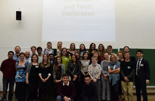 Fundación del grupo de jóvenes de la oficina internacional por la paz