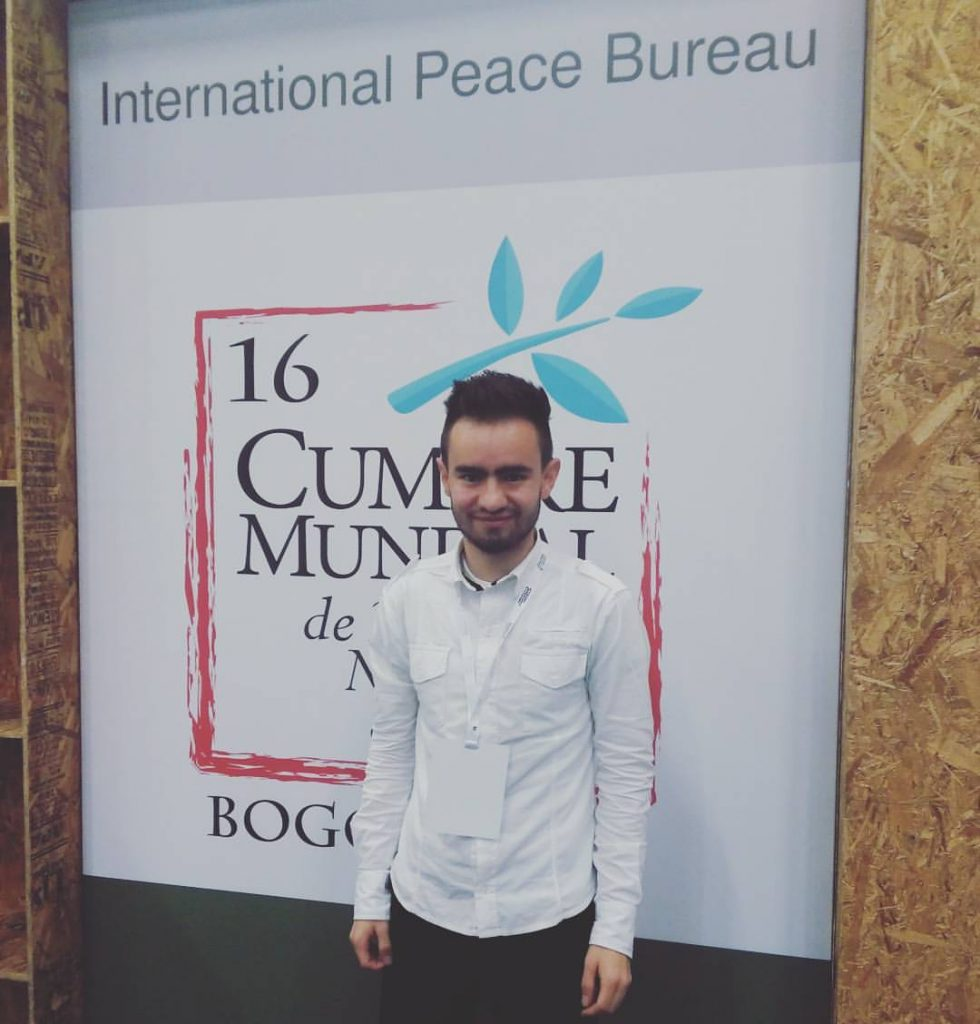 Angelo Cardona se une al Consejo del International Peace Bureau