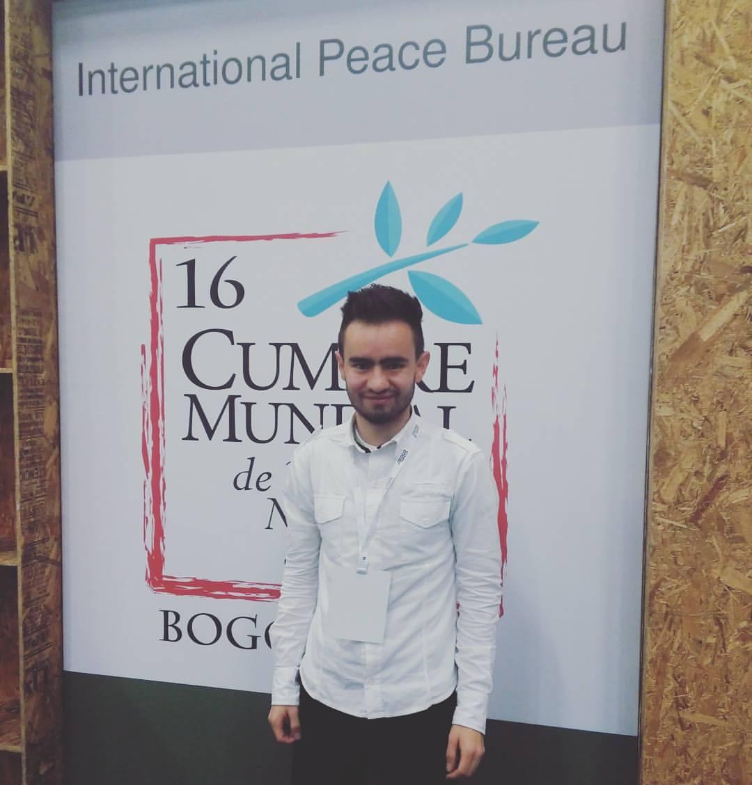 International Peace Bureau nombra a Angelo Cardona en su Consejo