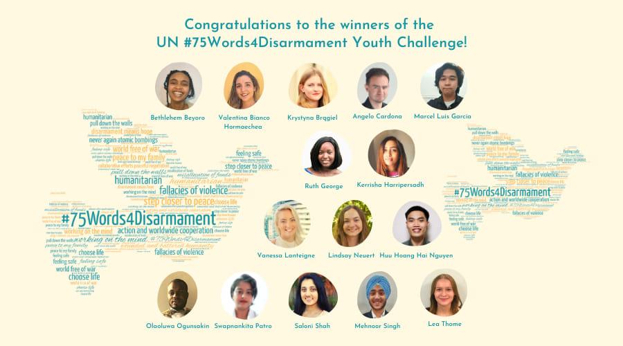 El colombiano premiado por la ONU en la Semana del Desarme